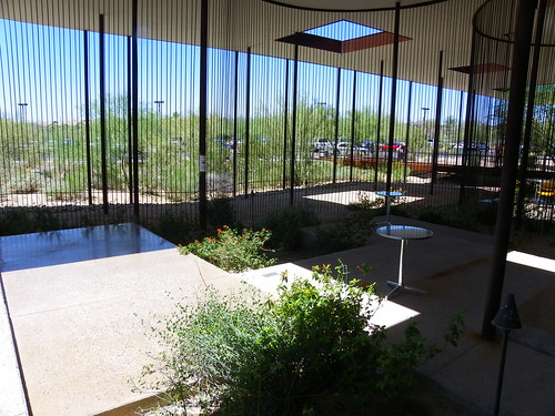 Outside space at  Desert Broom Library