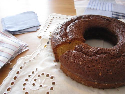 a casa cheira a bolo