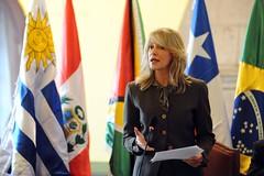 (Archivo) María Emma Mejía, secretaria de Unasur