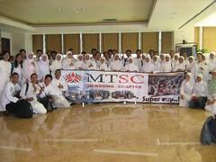 Foto Super Mario Teguh Super Club Bandung Chapter di Metro TV untuk pengambilan gambar Golden Ways
