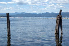 Lake Champlaign in Burlington, Vermont (lindseyocker) Tags: burlington vermont lakechamplaign