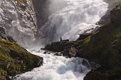 Huldra (**Anik Messier**) Tags: norway norge waterfall searchthebest dancer falls flm myrdal chutes magik norv