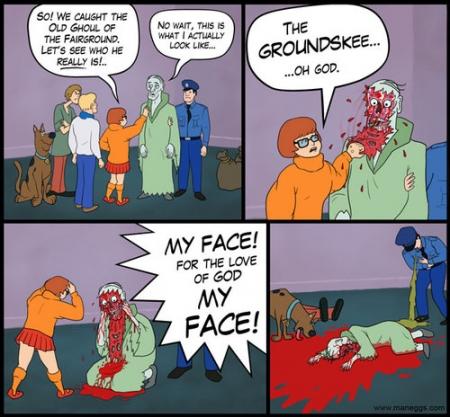 Thumb Velma de Scooby Doo resulta ser la asesina