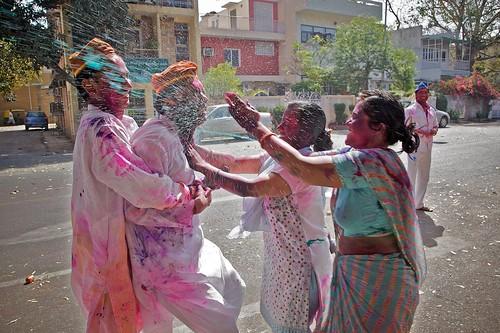 Holi Attack!