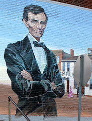 Mount Pulaski IL - Lincoln Wall Mural