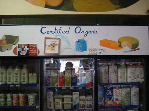 Organics on Bloor: Milk/Beverages
