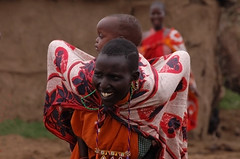massai family (sirca1) Tags: africa family people baby colours village play cristina massai ethnia arquimbau