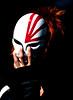 Seoul Korea Cosplay convention (Derekwin) Tags: red white anime dark hair nikon key mask cosplay low fingers bleach korea korean seoul convention lowkey hollow ichigo kurosaki d700 nikond700