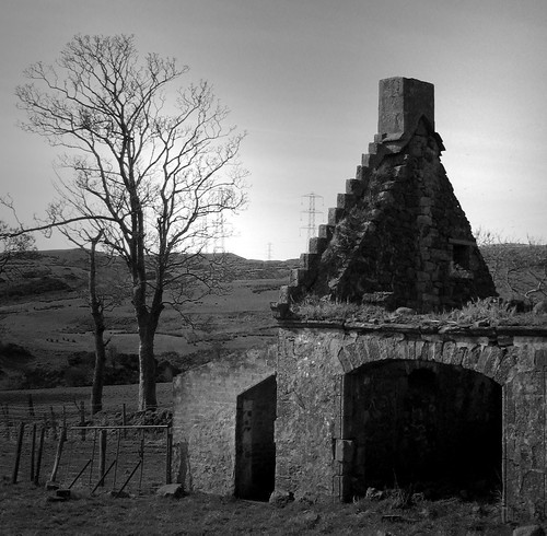 Ruin on Fairlie moor 17Mar09