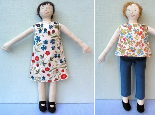 wren handmade dolls