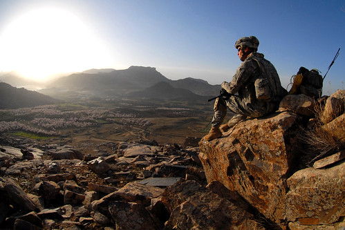 Sunrise in Afghanistan