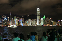 Hong Kong by night (Ch.H) Tags: street summer people night photoshop lights bay lot pic hong kong kowloon mongkok ifc