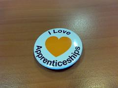 I love apprenticeships