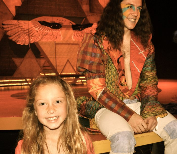 Emme and 'Joseph'