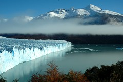 Perito Moreno Glacier one of the worlds natural wonders (Pat The Plant) Tags: show travel blue red cold tree water argentina fog america photo nikon asia warm outdoor south snail merino glacier vietnam eat peritomoreno perito globalwarming picker naturalwondersoftheworld
