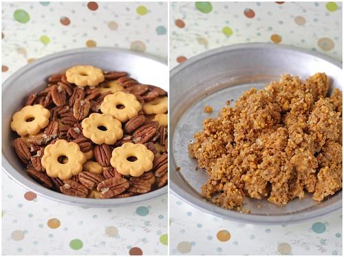 Shortbread Pecan Crust Diptych