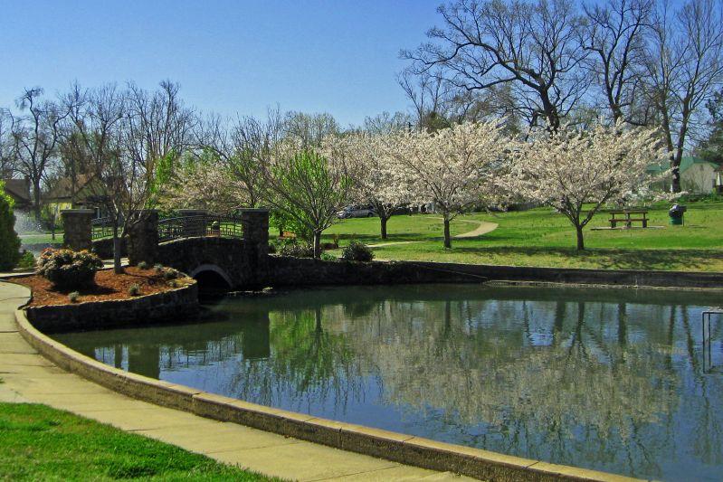 Janssen Park In Spring 2