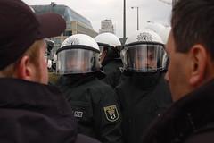 Looky Looky (Master Mojo) Tags: berlin demo riot cops police polizei rezession krise 28032009 kapitalismuskrise