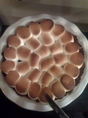 @theambershow made smores pie! She is the lovliest!