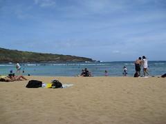 The Beach at Hanauma Bay (LVJeff) Tags: hawaii oahu hanaumabay