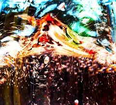 What Da Funk?!! (Ekler) Tags: light sky sun sunlight abstract color macro reflection art water glass fun happy photo lyrics shiny colorful shine spectrum bright artistic song expression vibrant joy picture vivid sunny pic funky funk bubble soda splash liquid evolt strowberry wildcherry ekler playthatfunkymusic olympuse410 soloha