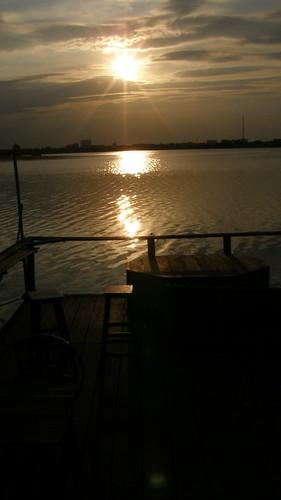 68.Boeng Kak Lake的夕陽