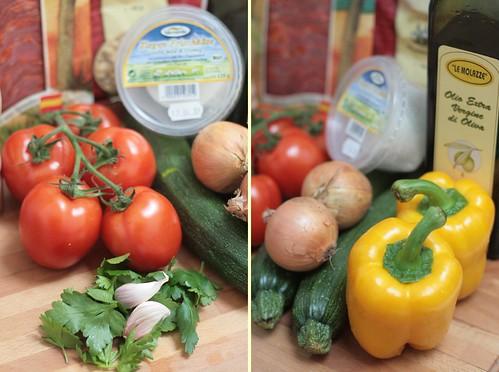 Légumes ensoleillés