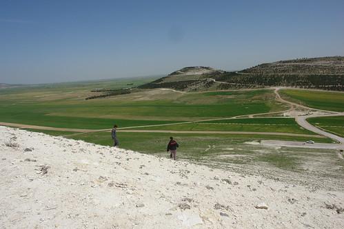 Spring landscapes in Syria