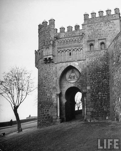 Toledo en 1949. Fotografía de Dmitri Kessel. Revista Life