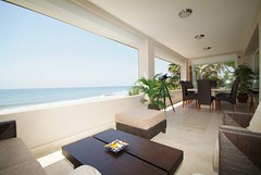 Porch with incredible views-      (alegriaproperties) Tags: costa sol beach del near front line villa estepona