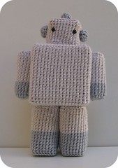 Robot ( voir etc...) Tags: cute toy robot crochet plush softie kawaii amigurumi crocheted mignon