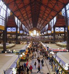 Budapest: mercato. (franfiorini) Tags: panorama budapest panoramica mercato