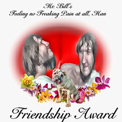 MR BILL'S FREAKING FRIENDSHIP AWARD ...