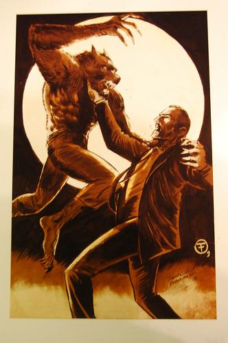 Wolfman v Dracula