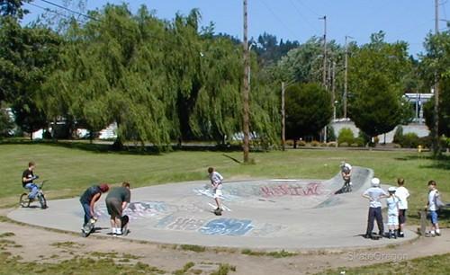 Eugene, Oregon skate park