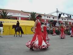 Ballet Paulina, ecuestre 3 02 feria de abril Las Palmas de Gran Canaria (Rafael Gomez - http://micamara.es) Tags: las horses horse animals de caballo caballos video abril feria gran animales  videos canaria cultural palmas asociacin