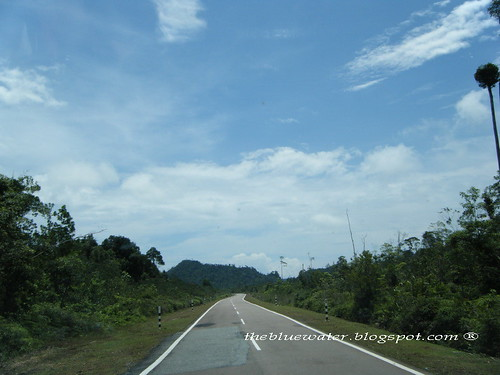 The road to T. Sari