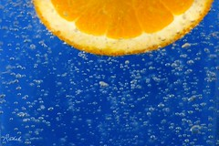 orange (rakel.gudmunds) Tags: blue orange bubbles fave gos blr appelsna colourartaward theperfectphotographer
