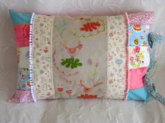 ♥ Embroidery Pillow #26 (♥ Ana's Place ♥) Tags: birds shop store linen embroidery craft pillow cantores cushion loja almofada passaros bordado linho handmaded singuers cordelinhofino