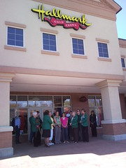 Ribbon Cutting Evie's Hallmark 4.30.09