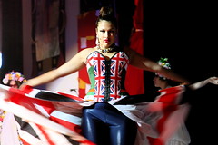 Bishi (siberfi) Tags: world portrait london fashion asian jack britain camden flag union creative british logan miss ck redwhiteandblue 2009 alternative p1 london1 roundhouse londonist clubkids andrewlogan bishi clubkidz maybeitsbecauseimalondoner alternativemissworld
