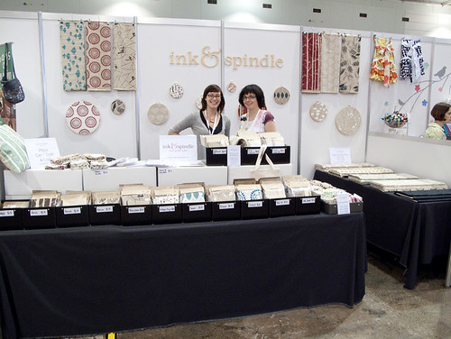 Ink & Spindle at the Stitches & Craft Show Brissy