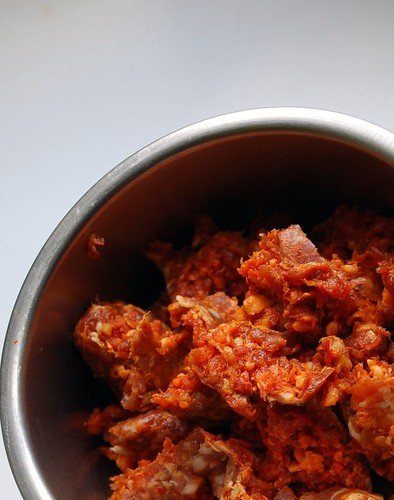 Hey, that tastes good!: Spicy sausage ragu