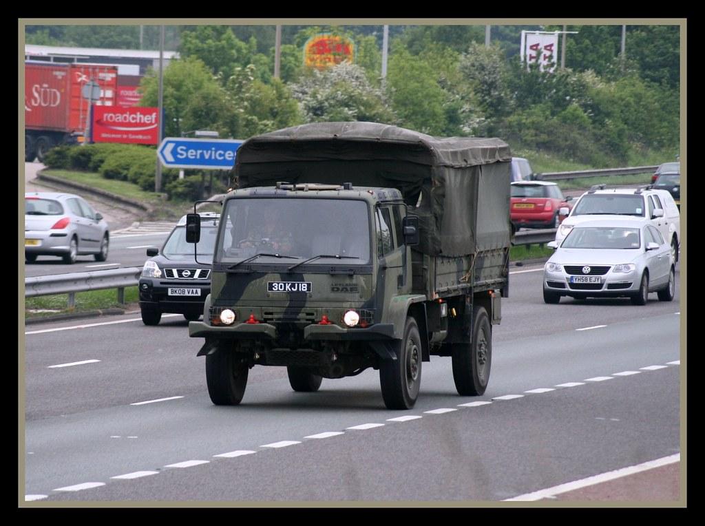 ARMY Leyland DAF 4x4