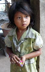 wise beyond her years (Leone Fabre) Tags: poverty children cambodia poor siemreap orphange chil
