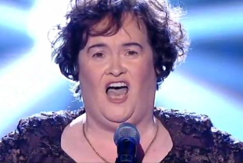 Susan Boyle Finalista canta