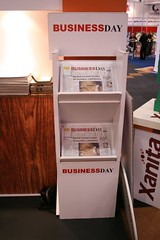 Business Day Newspaper Stand from 16mm X-Board #2