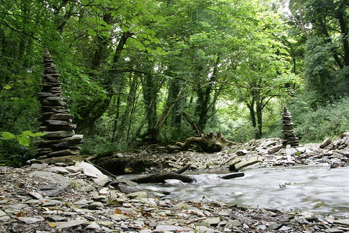 Rocky Valley towers, Cornwall, 2008