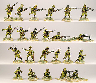 20mm Warmodelling Japanese Infantry (GUADALCANAL)