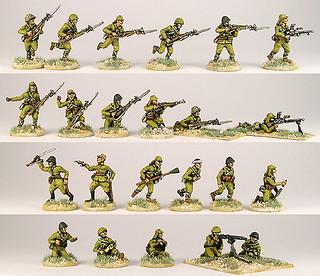 20mm Warmodelling Japanese Infantry (GUADALCANAL)